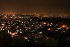 Widok Kathmandu dolina Nepal Zdjęcia Stock