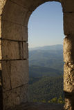 Widok Kaukaz góry Zdjęcia Stock