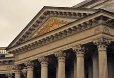 Widok Kazan ikony katedra w Petersburg mieście, Rosja Zdjęcie Stock