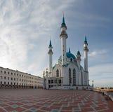 Widok Kazan Kremlowski meczetowy katedralny col zdjęcia stock