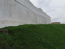 Widok Kazan Kremlowski Kazan, Rosja zdjęcia royalty free
