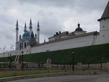 Widok Kazan Kremlowski Kazan, Rosja obraz stock
