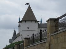 Widok Kazan Kremlowski Kazan, Rosja obraz royalty free