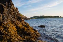 Widok Kerrera przez Oban zatokę Fotografia Royalty Free