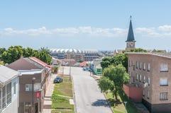 Widok Kirkwood ulica w North End w Port Elizabeth Zdjęcie Stock