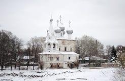 Widok kościół St John Chrysostom w Vologda Rosja zdjęcie stock