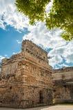 Widok ` Kościelny ` Majska ruina przy Chichen Itza, Meksyk obrazy stock