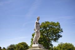 Widok kobiety rzeźba fotografia stock