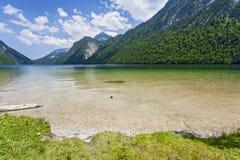 Widok Konigsee bavaria Niemcy Zdjęcia Stock