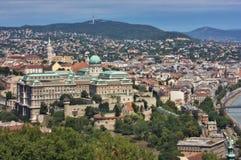 Widok Krajowy Budapest Zdjęcia Royalty Free