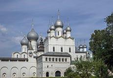 Widok Kremlin w Rostov zdjęcie royalty free