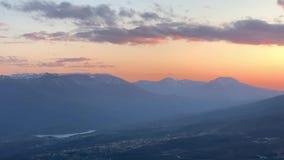 Widok Krymski rezerwat przyrody zdjęcie wideo