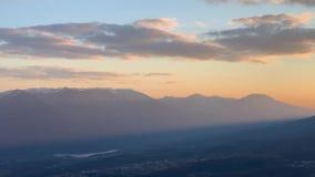 Widok Krymski rezerwat przyrody zbiory wideo