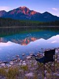 widok krzesła Zdjęcie Royalty Free