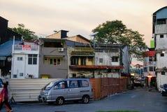 Widok Kuching, Borneo, Malaysia Zdjęcie Stock
