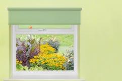 Widok kwiatu ogród Obraz Royalty Free