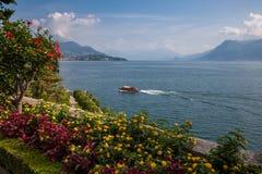 Widok Lago Maggiore Obrazy Royalty Free