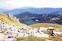 Widok Lago Santo parmense Obraz Stock