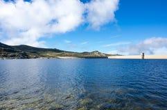 Widok Lagoa Comprida Zdjęcie Royalty Free