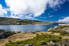 Widok Lagoa Comprida Zdjęcie Stock