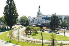Widok Le Zamiast Unikalny budynek w Nantes Obrazy Royalty Free