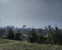Widok Lembah Dewata Lembang zdjęcia stock