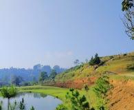 Widok lembang Bandung zdjęcia stock