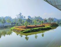 Widok lembang Bandung obraz royalty free