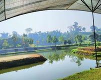 Widok lembang Bandung zdjęcie stock