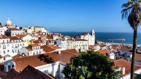 Widok Lisbon, Portugalia - Zdjęcia Stock