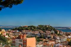Widok Lisbon Portugalia Obrazy Royalty Free