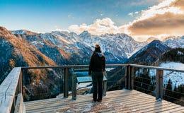Widok Logar dolina zdjęcie stock