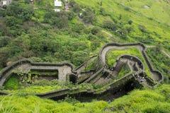 Widok lohagad fort Fotografia Stock