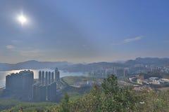 widok LOHAS park, Hong kong obraz royalty free