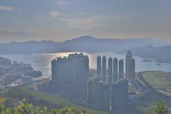 widok LOHAS park, Hong kong fotografia stock