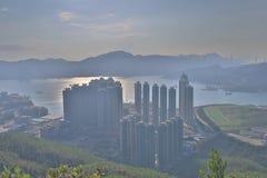 widok LOHAS park, Hong kong fotografia royalty free