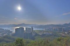 widok LOHAS park, Hong kong obraz stock