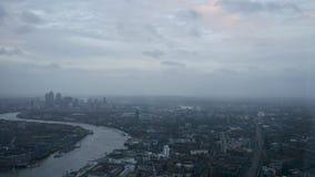 Widok Londyn od czerepu Zdjęcie Stock