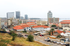 Widok Luanda, Angola Obrazy Stock