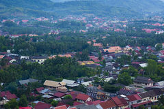 Widok Luang Prabang Obrazy Royalty Free