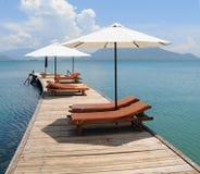 Widok luksusowy kurort przy Phan Thiet Zdjęcie Royalty Free