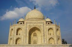 Widok mable pałac przy Taj Mahal w Agra, India Obrazy Royalty Free