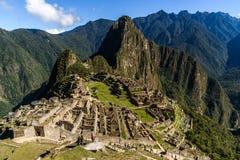 Widok Mach Picchu Zdjęcia Royalty Free