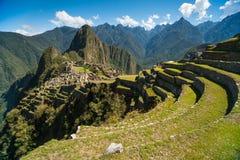 Widok Mach Picchu Zdjęcia Stock