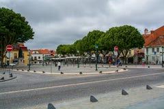 Widok Mafra wioska w Portugalia Zdjęcia Royalty Free
