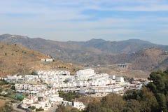 Widok Malaga, Hiszpania Zdjęcia Stock