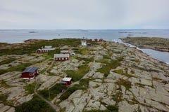 Widok malutka wyspa Vinga, Szwecja Zdjęcie Royalty Free