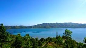 Widok mande wyspa Zdjęcia Royalty Free