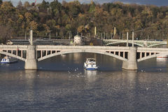 Widok Manesuv most od Charles mosta Obraz Royalty Free