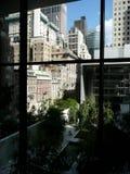 widok Manhattan drapacz chmur widok Obraz Stock